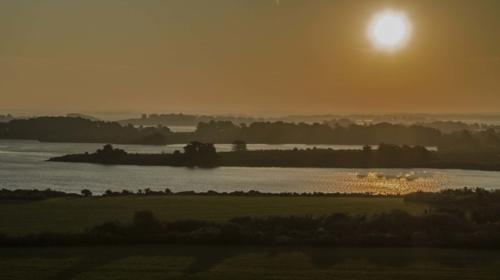 Point de Bernon-couche-de-soleil-Bretagne-raphael-dahan-pilote-de-drone-independant