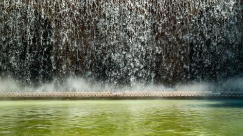 fontaine-du-palais-Barcelone-plan-de-cinema-par-drone-inspire-2
