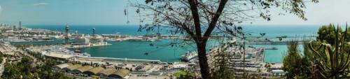 panoramique-mer-Barcelone-plan-de-cinema-par-drone-inspire-2