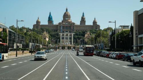 road-Barcelone-plan-de-cinema-par-drone-inspire-2