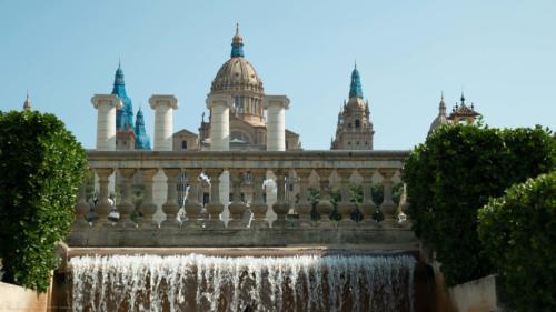 sculpture-Barcelone-plan-de-cinema-par-drone-inspire-2