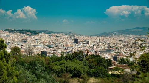 view-on-Barcelone-plan-de-cinema-par-drone-inspire-2